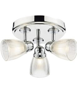 Dar CED7638 Cedric 3lt, Polished Chrome