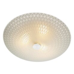 Dar COL522 Colby 3lt, Frosted Glass