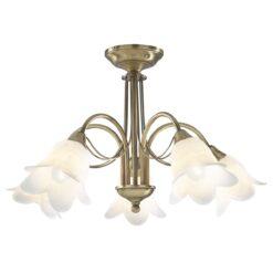 Dar DOU0575 Doublet 5lt, Antique Brass