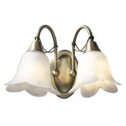 Dar DOU0975 Doublet 2lt, Antique Brass