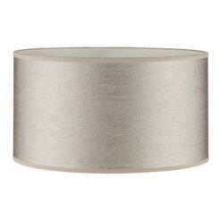 Dar S1055 Tuscan Floor Lamp Strung Taupe Shade