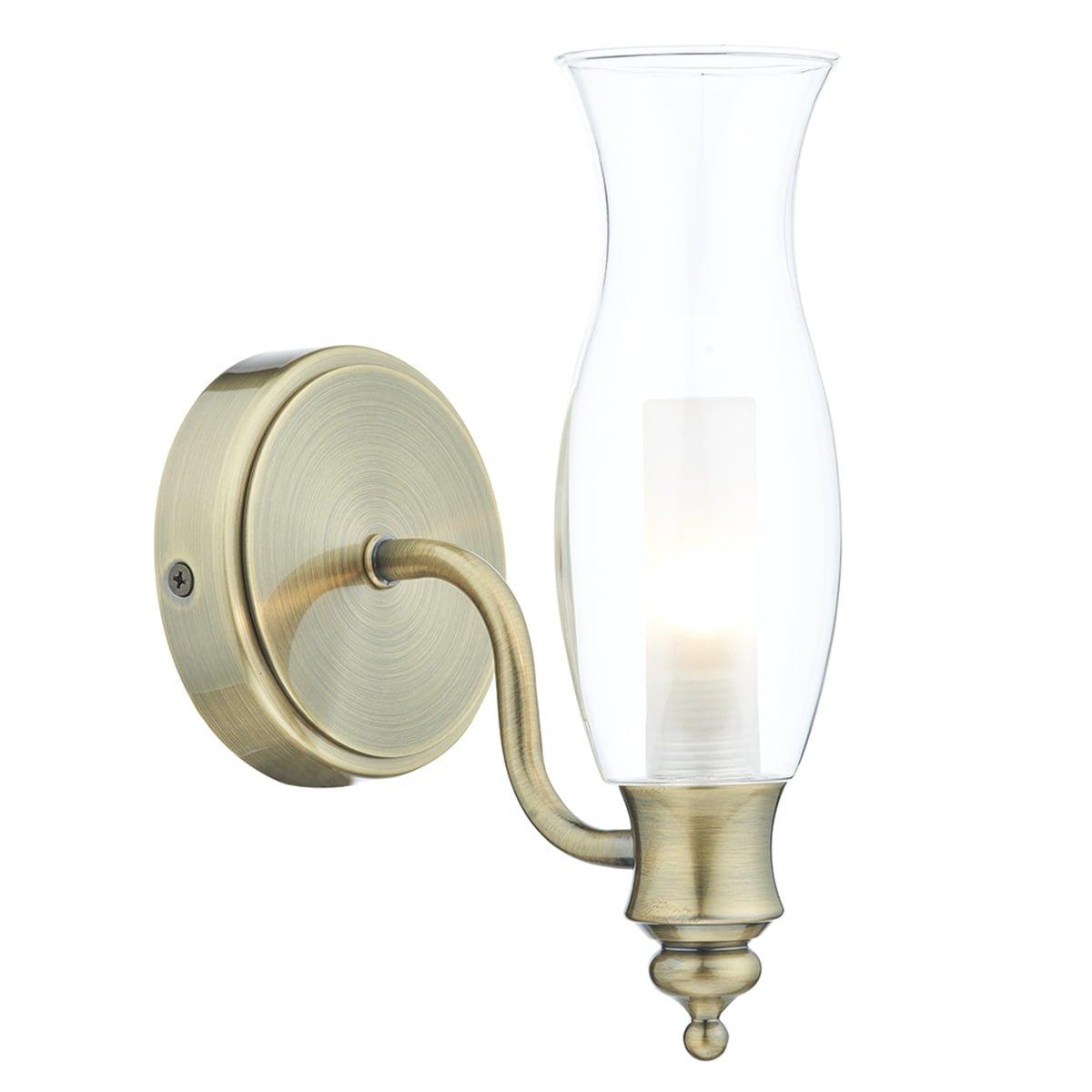 Dar VES0775 Vestry 1lt, Antique Brass