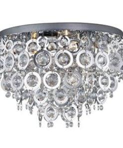 Searchlight 0575-5CC Nova 5lt Ceiling Light, Chrome