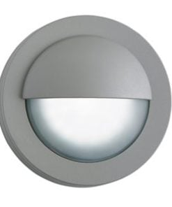 Searchlight 1402GY Outdoor 1lt Wall Light, Black