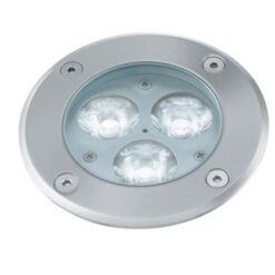 Searchlight 2505WH Recessed Indoor And Outdoor 1lt Led, White