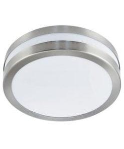 Searchlight 2641-28 Outdoor 2lt Wall Light, Satin Chrome