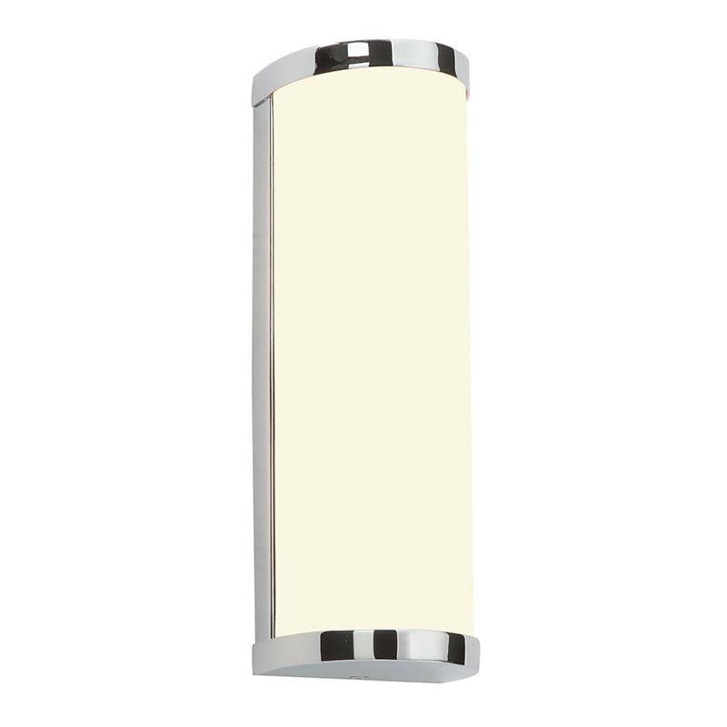 Endon 39363 Ice IP44 28W, Chrome effect plate & matt opal duplex glass