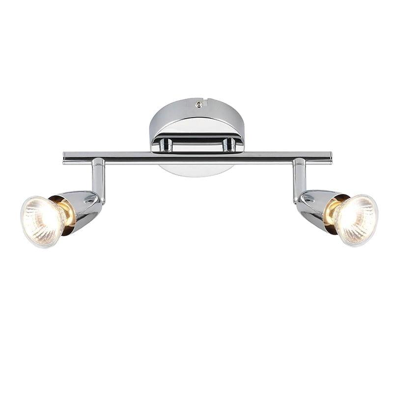 Endon 43278 Amalfi 2lt bar 50W, Chrome effect plate