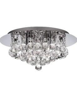 Searchlight 4404-4CC-LED Bathroom 4lt Ip Rated, Chrome