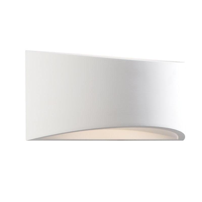 Endon 61638 Toko 300mm 1lt wall 3W, White plaster