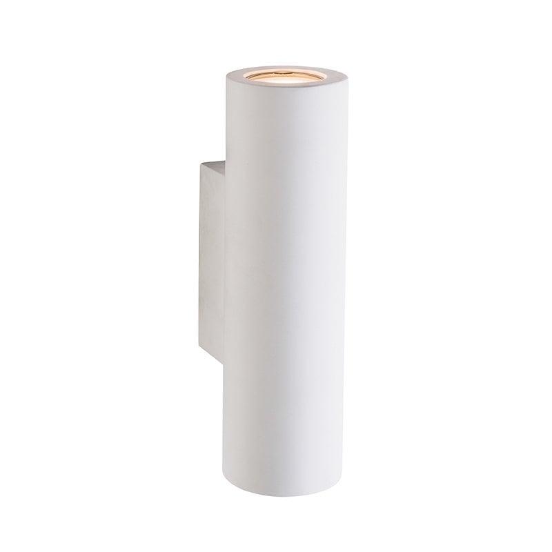 Endon 61640 Salvo 2lt wall 3.5W, White plaster