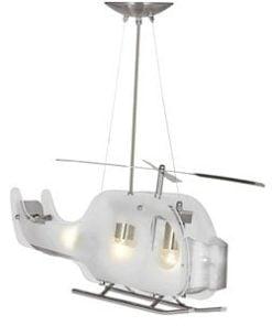 Searchlight 639 Novelty 3lt Pendant, Glass