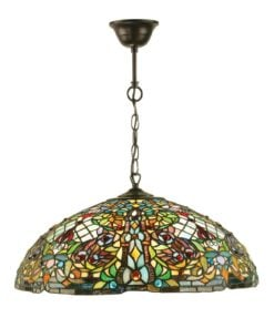 Interiors 1900 63902 Anderson Large 3lt pendant, Tiffany