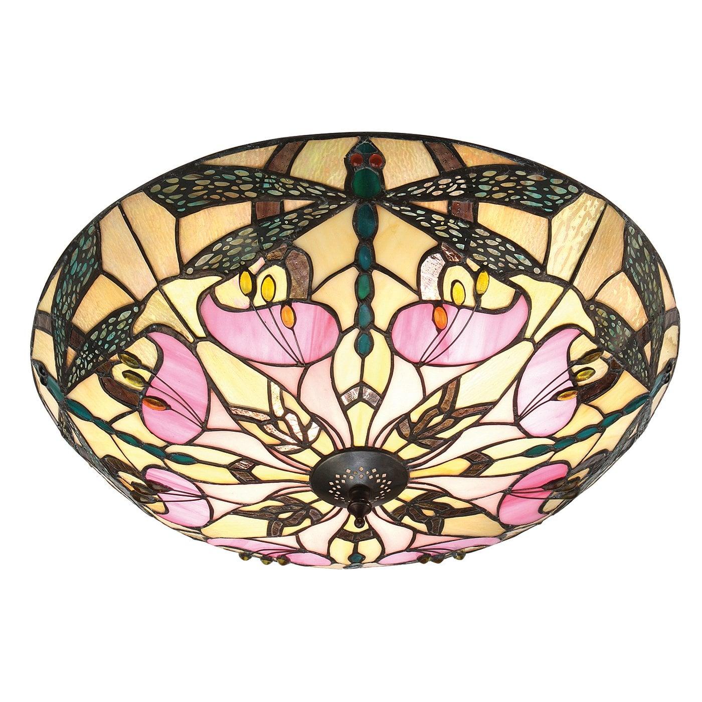 Interiors 1900 63922 Ashton Large 2lt flush, Tiffany
