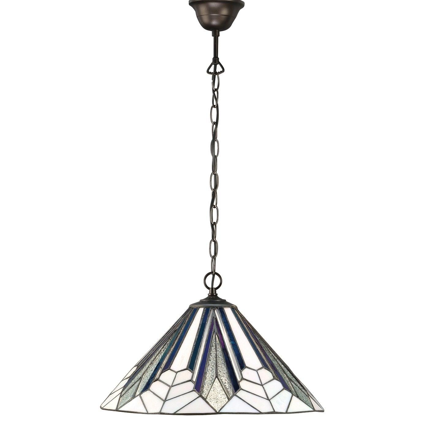 Interiors 1900 63937 Astoria Medium 1lt pendant, Tiffany