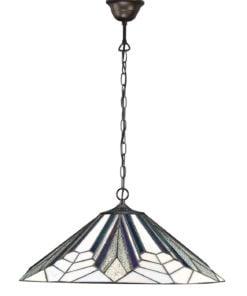 Interiors 1900 63938 Astoria Large 1lt pendant, Tiffany