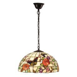 Interiors 1900 63994 Butterfly Medium 1lt pendant, Tiffany