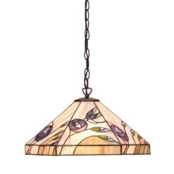 Interiors 1900 64037 Damselfly Medium 1lt pendant, Tiffany