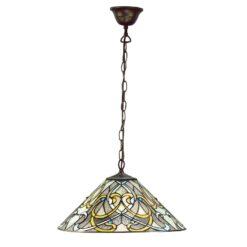 Interiors 1900 64054 Dauphine Medium 1lt pendant, Tiffany