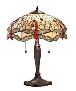 Interiors 1900 64085 Dragonfly beige Medium table, Tiffany