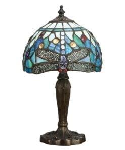 Interiors 1900 64088 Dragonfly blue Intermediate table, Tiffany