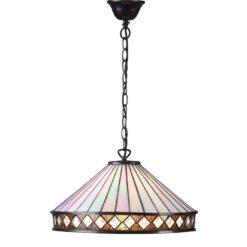 Interiors 1900 64147 Fargo Large 1lt pendant, Tiffany