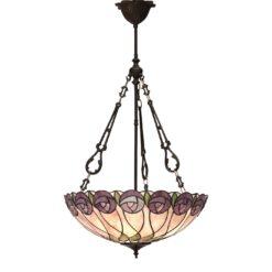 Interiors 1900 64174 Hutchinson Large inverted 3lt pendant, Tiffany