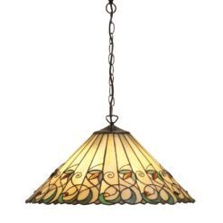 Interiors 1900 64194 Jamelia Large 3lt pendant, Tiffany
