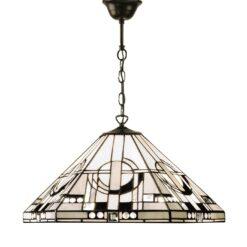 Interiors 1900 64259 Metropolitan Medium 1lt pendant, Tiffany