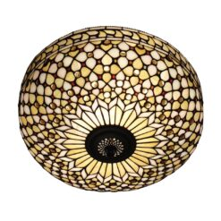 Interiors 1900 64276 Mille feux Large 2lt flush, Tiffany