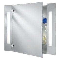 Searchlight 6560 Bathroom 2lt Ip Rated, Chrome