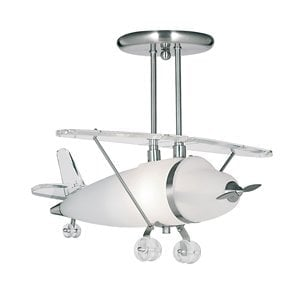 Searchlight 737 Novelty 1lt Pendant, Glass