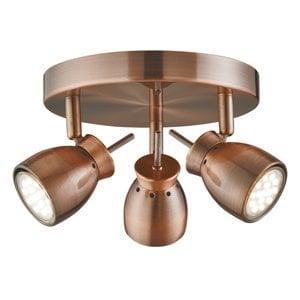Searchlight 8813CU Jupiter 3lt Spotlight, Copper