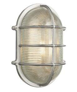 David Hunt Lighting ADM2138 Admiral 1 light wall light, Nickel