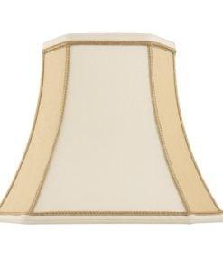 Endon CAMILLA-10 Camilla 10 inch, Twotone cream faux silk
