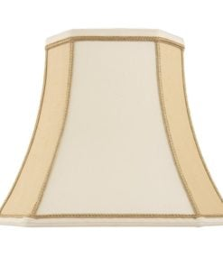 Endon CAMILLA-14 Camilla 14 inch, Twotone cream faux silk