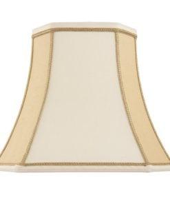 Endon CAMILLA-16 Camilla 16 inch, Twotone cream faux silk