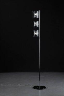 Impex CFH211171/03/FL/CH Sonja 3 light Floor Lamp, Chrome