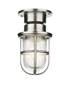 David Hunt Lighting COA0138 Coast 1 light lantern, Nickel