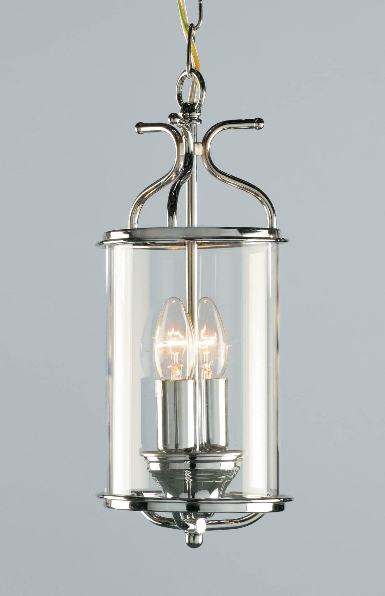 Impex LG00029/CH Winchester 2 light Lantern, Chrome