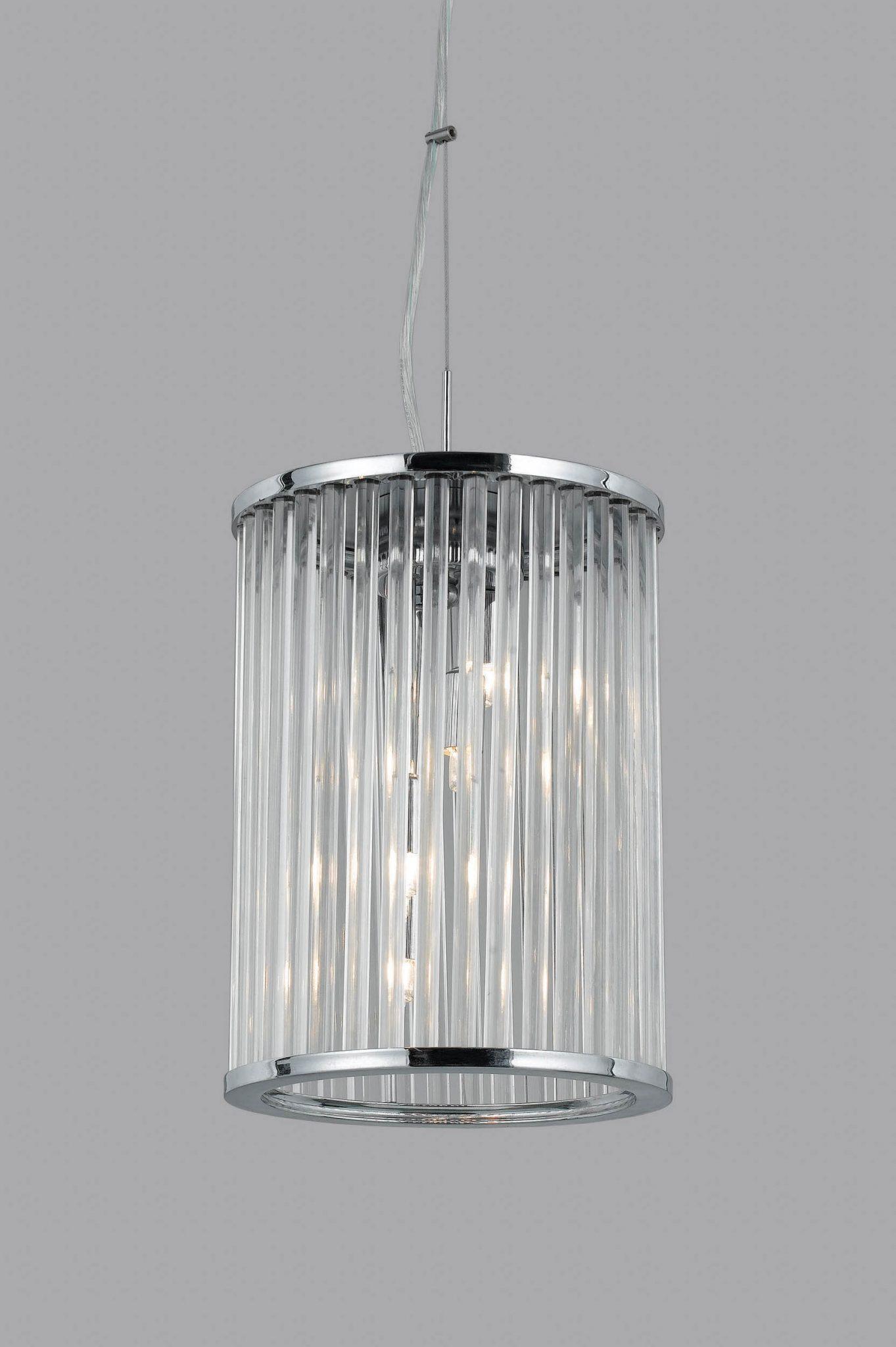 Impex LG012171/04/CH Oklahoma 4 light Lantern, Chrome