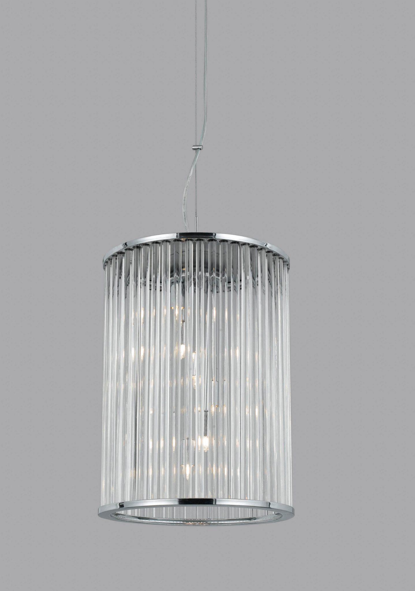 Impex LG012171/06/CH Oklahoma 6 light Lantern, Chrome