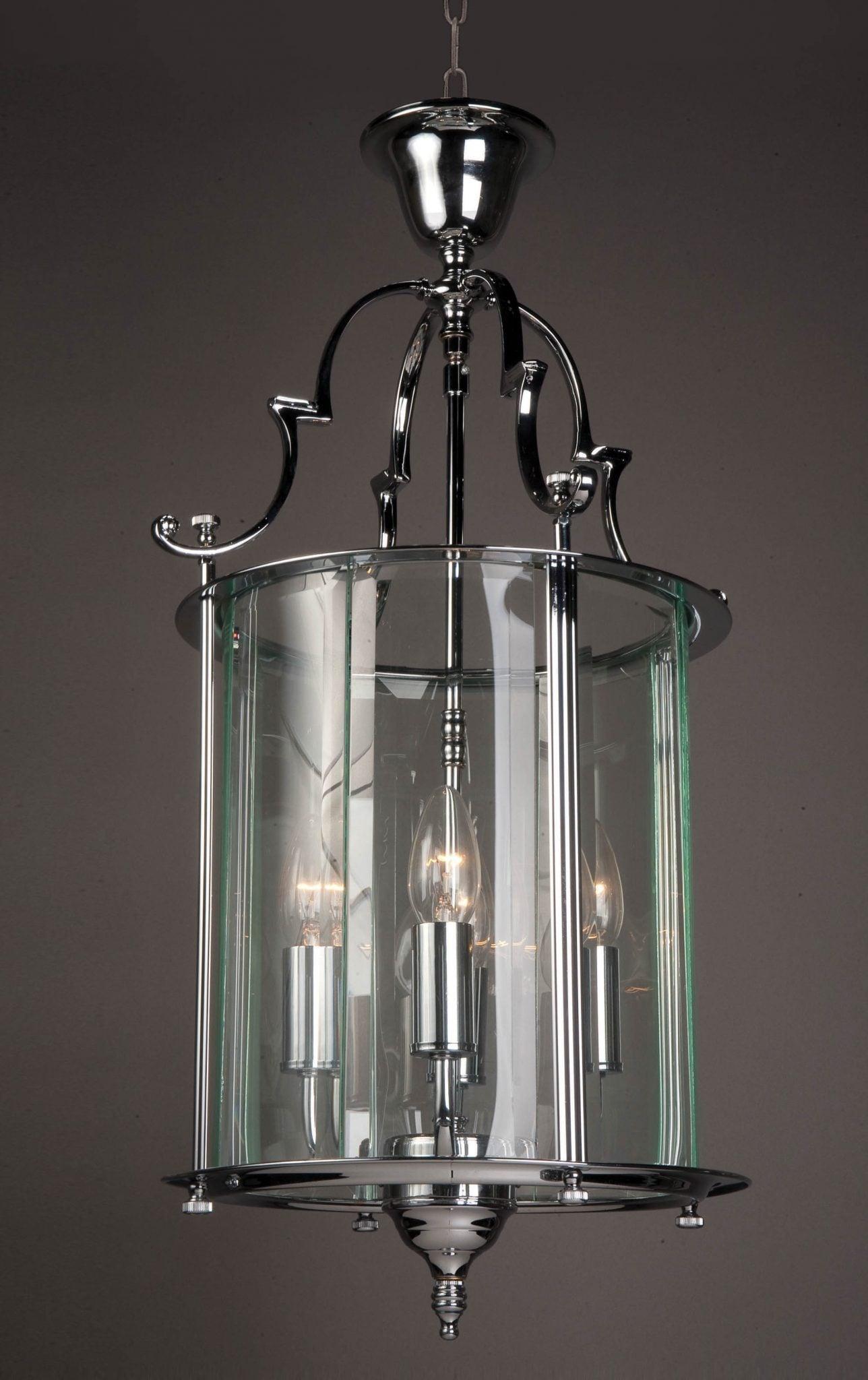 Impex LG07000/11/CH Colchester 4 light Lantern, Chrome