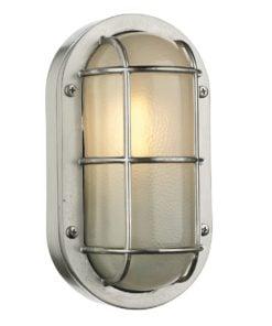 David Hunt Lighting LIG5238 Lighthouse 1 light wall light, Nickel