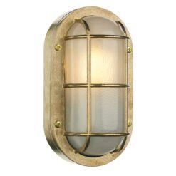 David Hunt Lighting LIG5240- Lighthouse 1lt Outdoor, Brass
