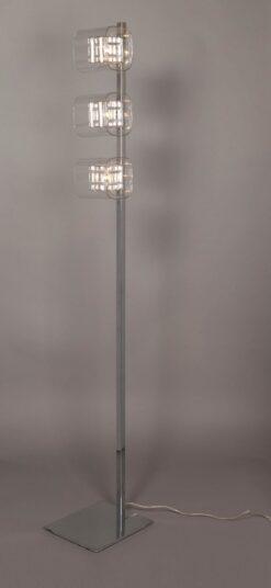 Impex PGH01515/FL/CH Avignon 3 light Floor Lamp, Chrome