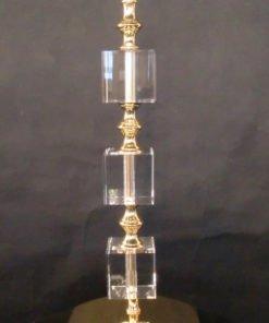 Impex ST0000B/TL/G Boston 1 light Table Lamp, Gold