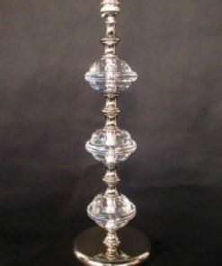 Impex ST0000F/TL/N Boston 1 light Table Lamp, Nickel