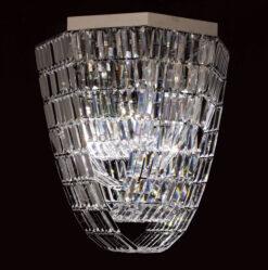 Impex ST005048/OCT/CH CrystalArt 8 light Crystal, Chrome