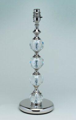 Impex ST02021/N Furth 1 light Table Lamp, Nickel